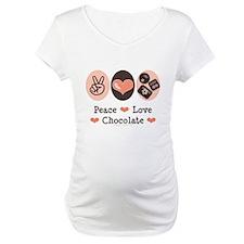 Peace Love Chocolate Shirt