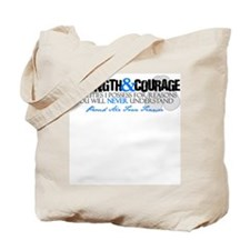 Courage&Strength AF Fiancee Tote Bag