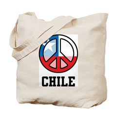 Peace In Chile Tote Bag
