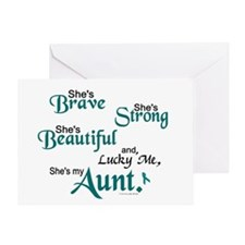 Lucky Me 1 (Aunt OC) Greeting Card
