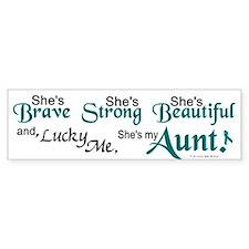 Lucky Me 1 (Aunt OC) Bumper Bumper Sticker