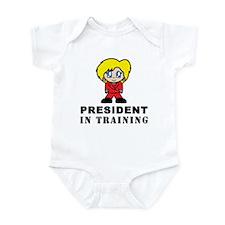 Hillary Clinton President Infant Bodysuit