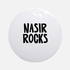 Nasir Rocks Ornament (Round)