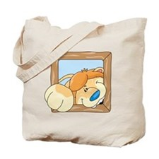 Coming & Going Lion Tote Bag