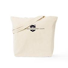 spunky kitten Tote Bag