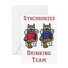 Drink Team Greeting Card