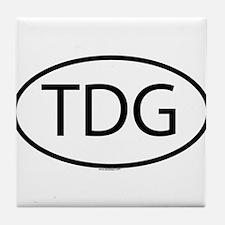 TDG Tile Coaster