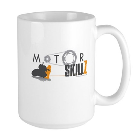 Skill Motorcycle Large Mug
