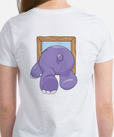 Coming & Going Hippo Tee