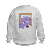Coming & Going Hippo Sweatshirt