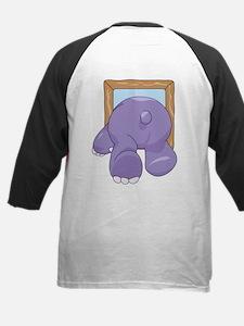 Coming & Going Hippo Kids Baseball Jersey