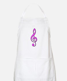 Pink Musical Love BBQ Apron