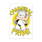Cannibal Pride Mini Poster Print