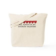 Grandpa Favorite Valentine Tote Bag