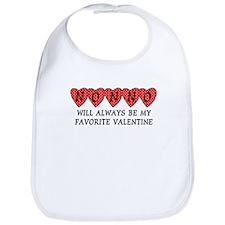 Nonno Favorite Valentine Bib
