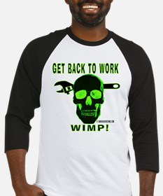 Back to Work Baseball Jersey