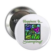 Happiness Is... Button