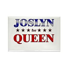 JOSLYN for queen Rectangle Magnet