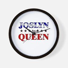 JOSLYN for queen Wall Clock