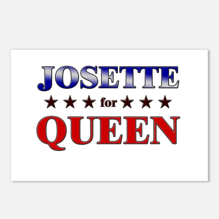 JOSETTE for queen Postcards (Package of 8)