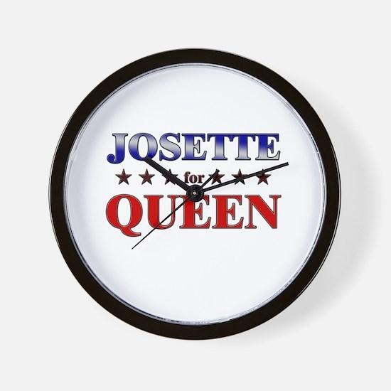 JOSETTE for queen Wall Clock
