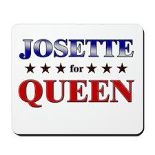 JOSETTE for queen Mousepad