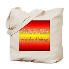 Homeschoolers Class of Their Own Tote Bag