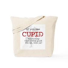 Bitch-Slap Cupid Tote Bag