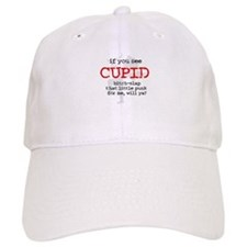 Bitch-Slap Cupid Baseball Cap