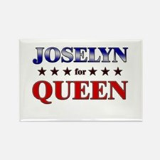 JOSELYN for queen Rectangle Magnet