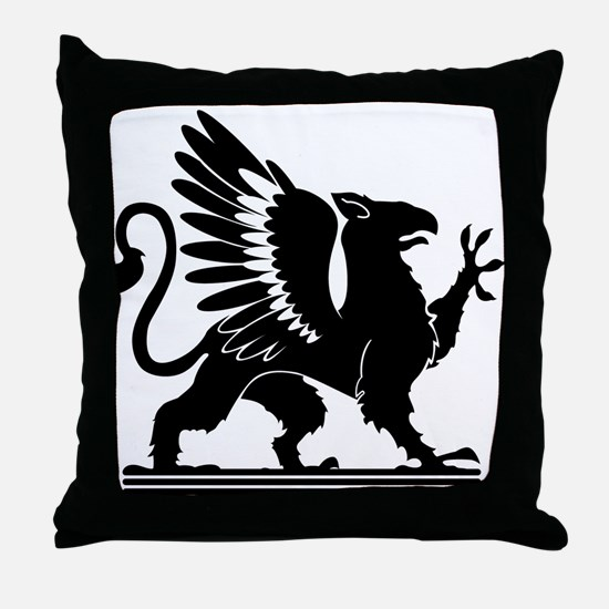 Gryphon Throw Pillow