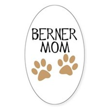 Big Paws Berner Mom Oval Decal
