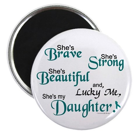 "Lucky Me 1 (Daughter OC) 2.25"" Magnet (10 pack)"