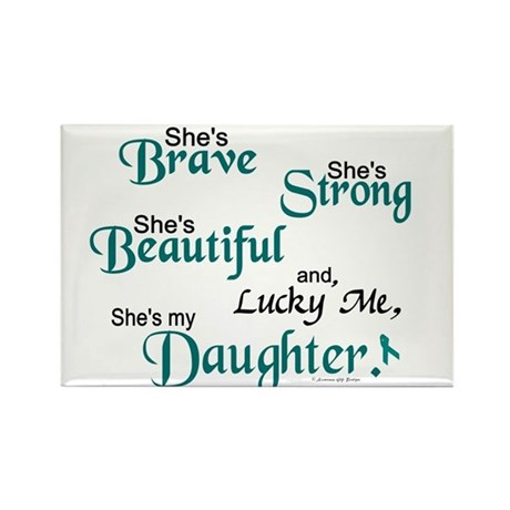 Lucky Me 1 (Daughter OC) Rectangle Magnet