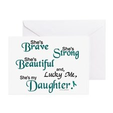 Lucky Me 1 (Daughter OC) Greeting Cards (Pk of 20)