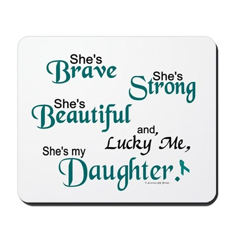 Lucky Me 1 (Daughter OC) Mousepad
