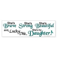 Lucky Me 1 (Daughter OC) Bumper Car Sticker