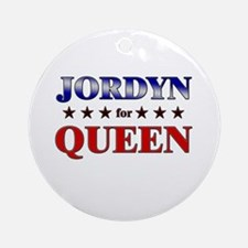 JORDYN for queen Ornament (Round)