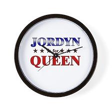 JORDYN for queen Wall Clock