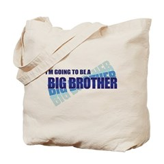 going to be a big brother blue Tote Bag