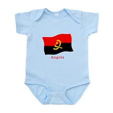 Angola Flag Infant Bodysuit