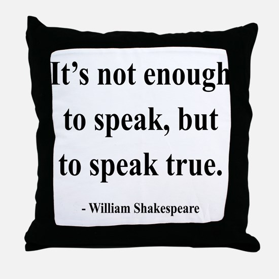 Shakespeare 22 Throw Pillow