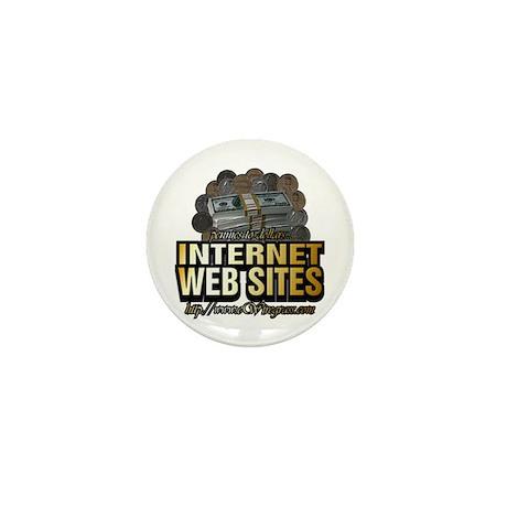 Web Site Names ~ Mini Button
