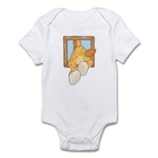 Going Through Giraffe Infant Bodysuit