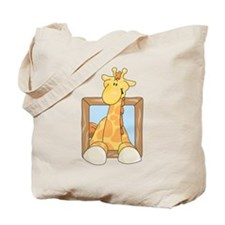 Coming & Going Giraffe Tote Bag