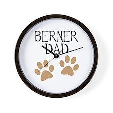 Big Paws Berner Dad Wall Clock