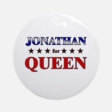 JONATHAN for queen Ornament (Round)