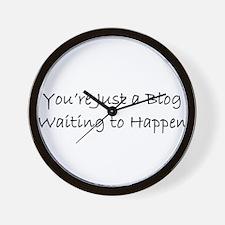 Blog 1 Wall Clock
