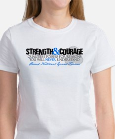 Strength&Courage NG Fiancee Women's T-Shirt