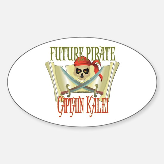 Captain Kalei Oval Decal